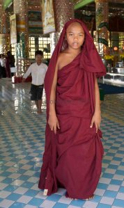 Monk on Sagaing Hill © Carole Scott