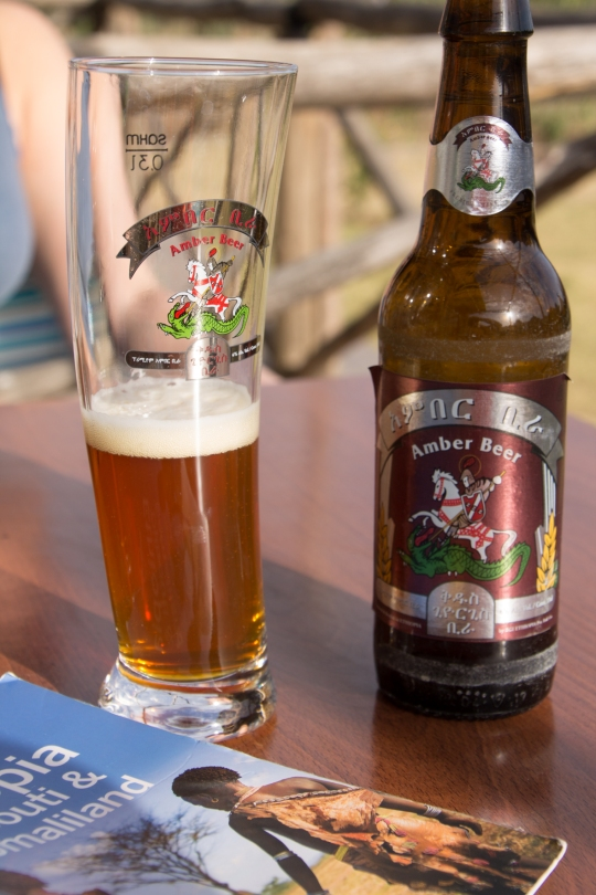 A cold, refreshing beer